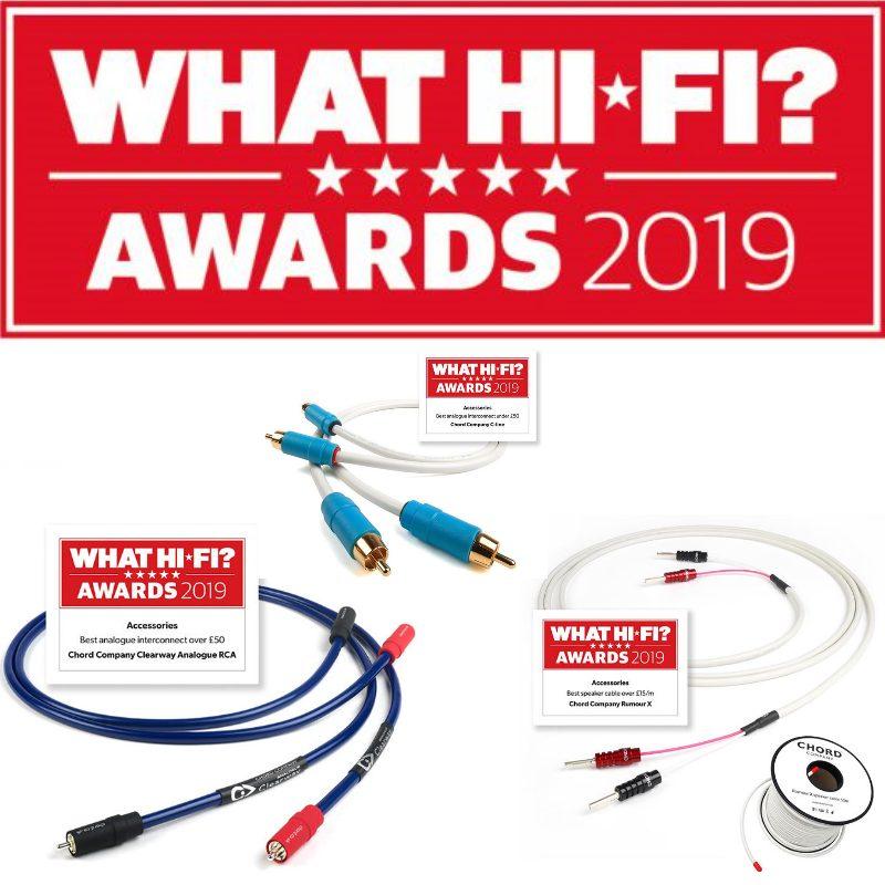 Galardões What Hi-fi? 2019