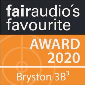 bryston 3B fairaudio award2020